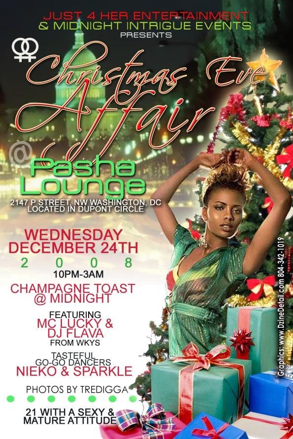 Christmas Eve Affair at Pasha Lounge
